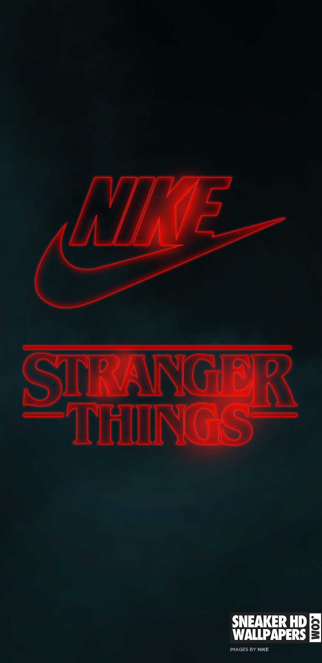 stranger things nike wallpaper mobile qhd