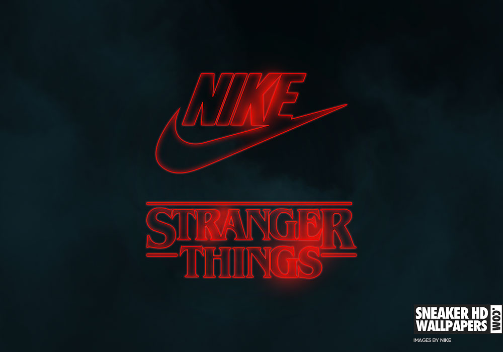 stranger things nike wallpaper preview
